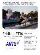 ANTS Bulletin March 2015