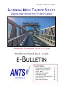 ANTS e-Bulletin Jun 2016