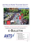 ANTS eBulletin Dec 2016
