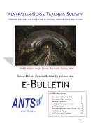 ANTS eBulletin Oct 2016