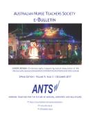 ANTS e-Bulletin Dec 2017