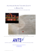 ANTS eBulletin Dec 2018