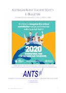 ANTS e-Bulletin Mar 2020