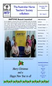 ANTS Bulletin December 2010