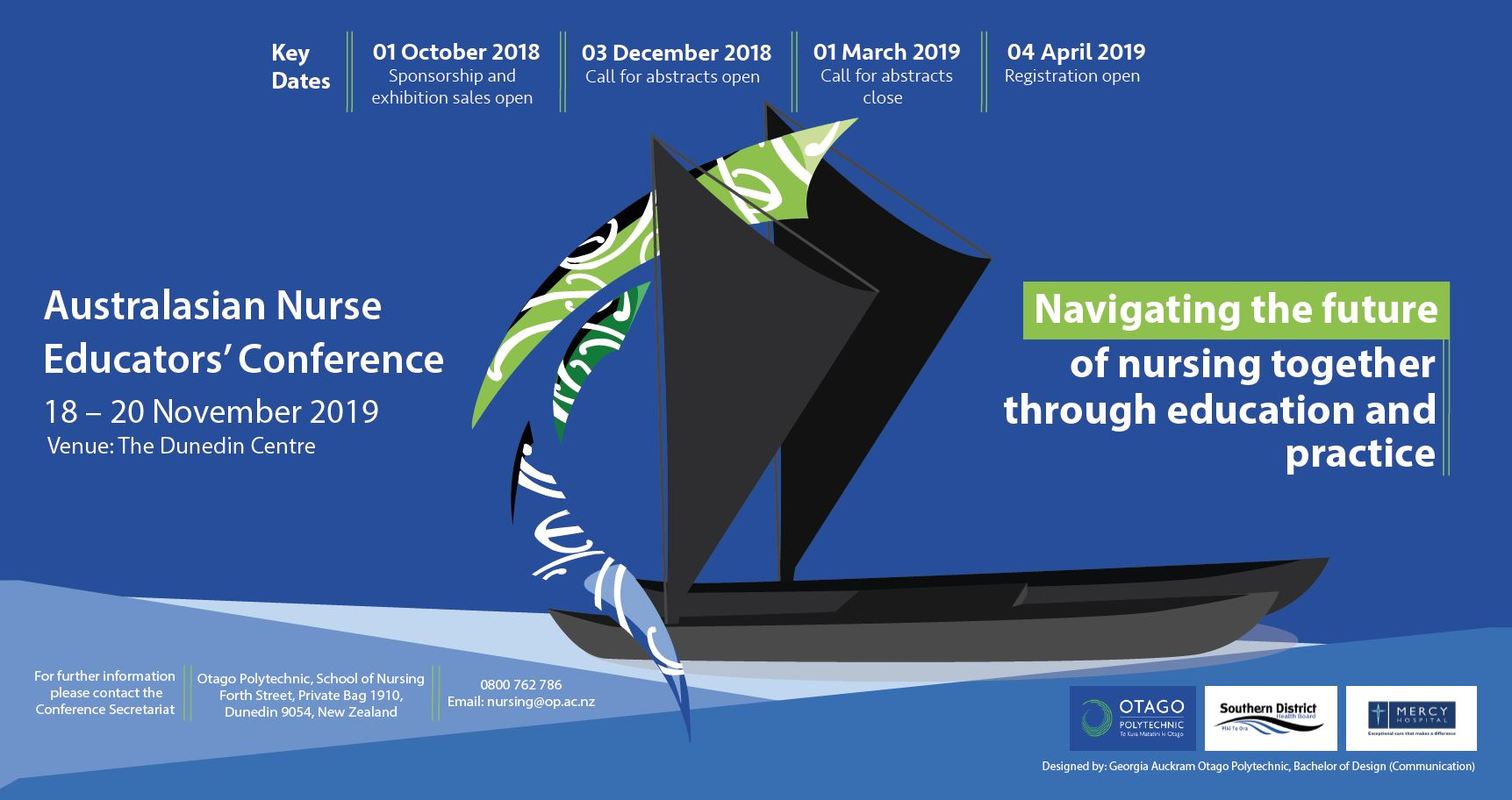 Don't forget about the fast approaching Australasian Educators' Conference 18-20 Nov 2019 Dunedin New Zealand.